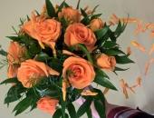 Kurs florystyczny - prace uczestników szkolenia